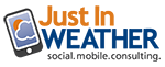 Just In Weather Retina Logo