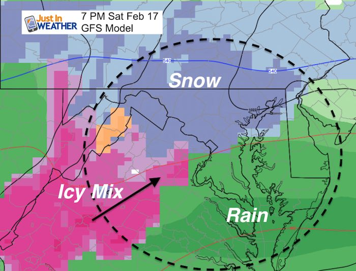 Warming Up With Rain Showers Then Weekend Snow – Just In Weather