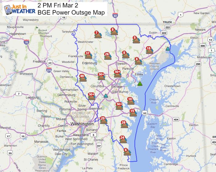 Columbia Md Power Outage Map
