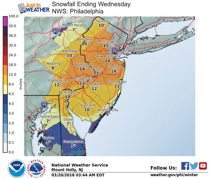 Winter Weather Advisory Today And Winter Storm Warning