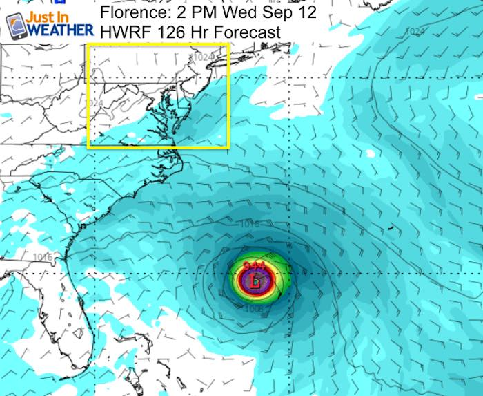 Florence Hurricane Tracking Forecast Can Be Scary And Change Every