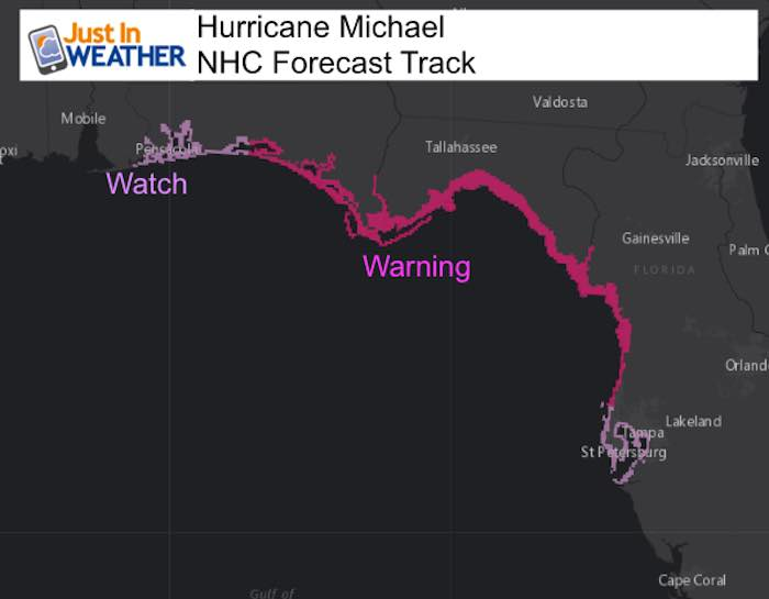Hurricane Michael To Hit Florida As Cat 3 Then Clip Maryland