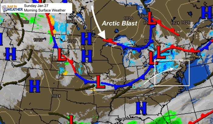Mild Today Then Tracking The Arctic Blast Snow And ...