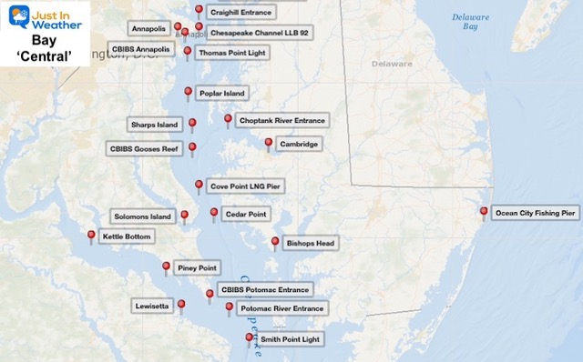 Chesapeake Bay Operational Forecast - Central