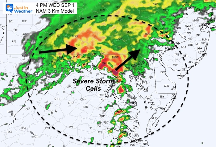 Severe Storms This Afternoon